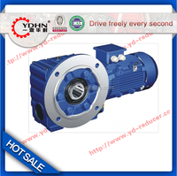 New TEC YDHN brand S type Helical gearbox motor with flange