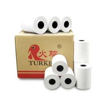 "TK thermal rolls, (50 rolls) 2 1/4"" x 50"" Thermal Receipt Printer Paper for Verfone VX520, first Data FD400 Nurit 8000"