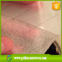 Laminated Spunbond Nonwoven Fabric/ PP Spunbond PE film laminated Non woven Fabric