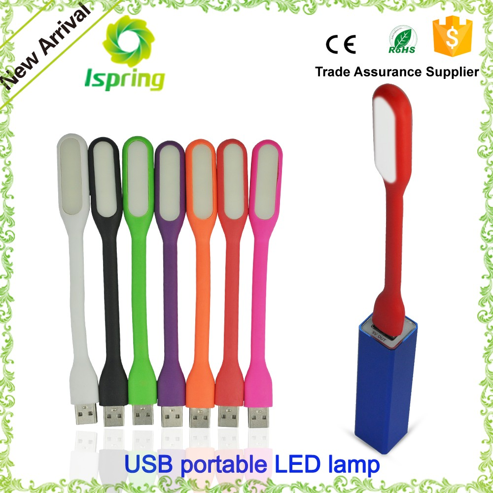 Power Bank Portable Flexible LED Lamp 5V 1.2W Mini USB LED Light