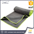 Sublimation hot mat cover embroidery logo non slip fabrics wholesale custom microfiber yoga towel