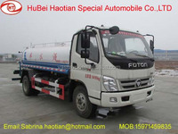 Price of foton cars 4*2 small water truck garden watering carts