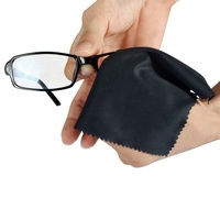 Wholesale Lens Jewelry Eyeglasses Glasses Microfiber Cleaning Cloth