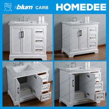 HOMEDEE Commercial Ready made bathroom cabinet vanity