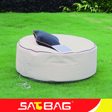 Waterproof outdoor round bean bag chair