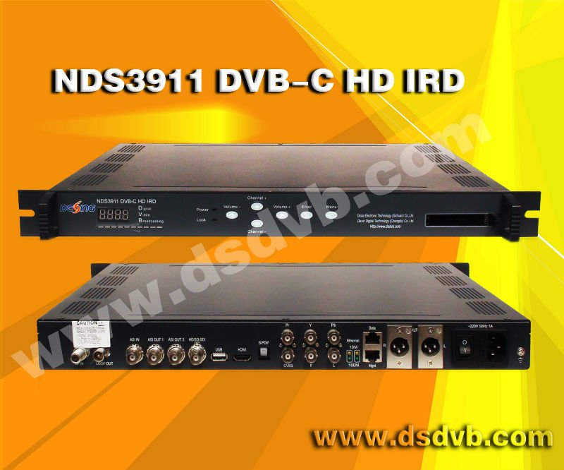 DVB-C HD Satellite receiver with CI slot