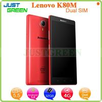shenzhen cell phone 5.5 inch Lenovo K80M In-tel Z3560 Quad Cores android 4.4