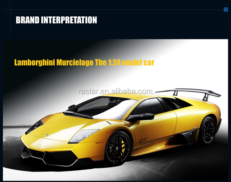 RASTAR 1:24 Lamborghini Murcielago LP760-4 diecast luxury car model with open door