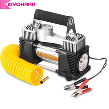 150PSI Portable 12 Volt Automatic Tire Inflator Metal Body 12V Mini Air Compressor