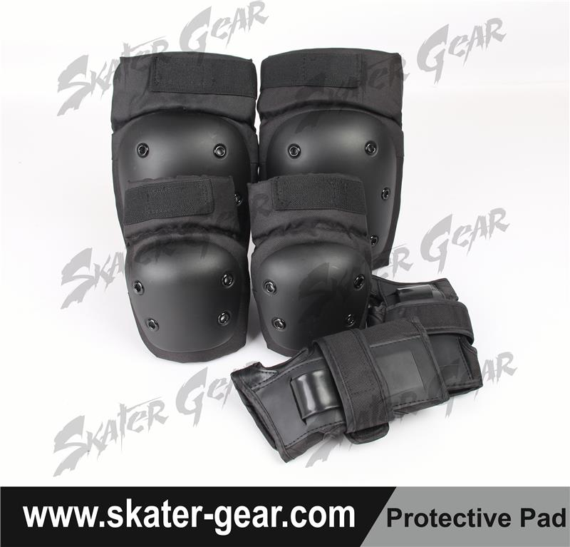 SKATERGEAR skate protective gear neoprene knee and elbow pads kite board pads