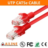 AiLINE Trade Assurance 10m Red Network 4 Pairs Copper Cat5e UTP Cable
