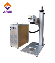 desktop mobile case printing fiber laser marking engraving machine