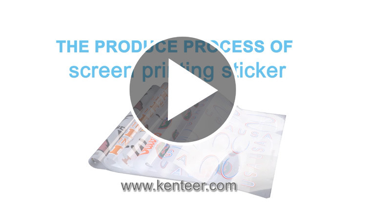 Kenteer for offset printing Iron on Heat Transfer Labels