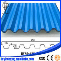 color corrugated roof sheets/color steel roofing sheets/galvanized steel sheet