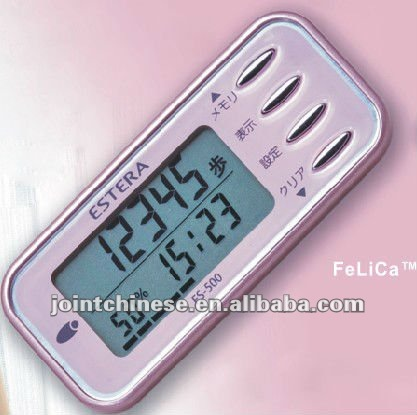 3-axis USB Pedometer with Moderate and Vigorous Exercise Indicator