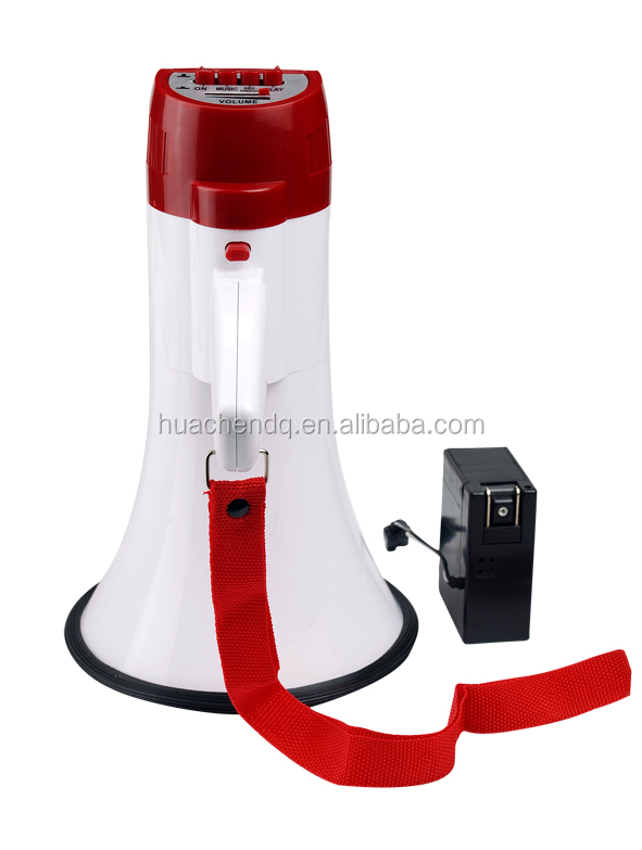 new wireless rechargeable megaphone with rational construction