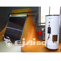 Pressured Split Solar Water Heater Can