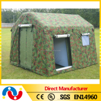 0.55mm PVC tarpaulin military pop up tent, 1 man military tent camping
