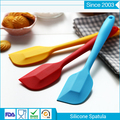Top quality attractive shape heat resistant baking silicone kitchen colorful spatula