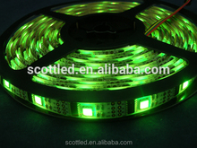 TM1803 led digital strip,32leds/m,5m/reel DC5V input,32pcs IC and 32pcs 5050 SMD RGB,32pixels/m