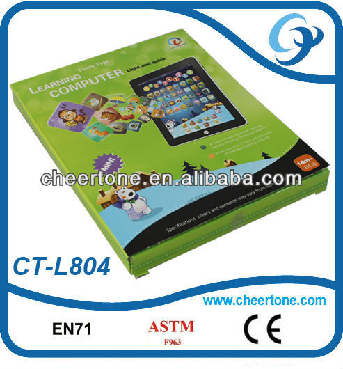 Multifunction electronic ipad for kids, chinese wholesale abs plastic educational toys dropship