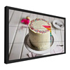 Daisy chain 4K 3.7mm wood multi panel tv wall led stand with low price lcd advertising 4x5 for Swimming pool