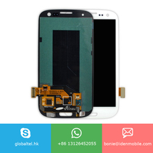 4.8 inch LCD sreen display with touch digitizer assembly for Samsung Galaxy S3 i9300