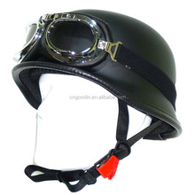 Motorcycle accessories novelty helmet with googles fashion design
