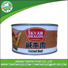 Healthy and fresh muslim product canned corned beef