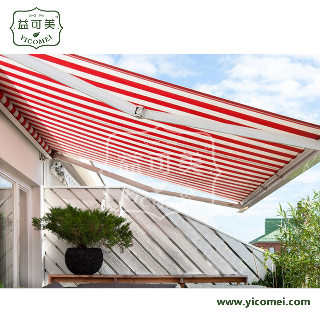 windows folding arm electric full cassette awnings
