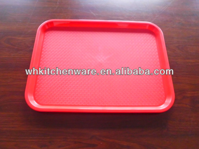 Colourful And No MOQ Wholesale Plastic Serving Trays