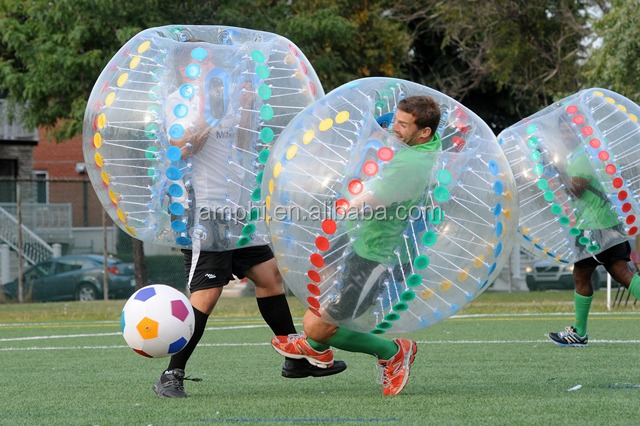 super selling 0.8mm PVC/TPU inflatable human bumper ball,bubble soccer suit,loopyball/bubble soccer