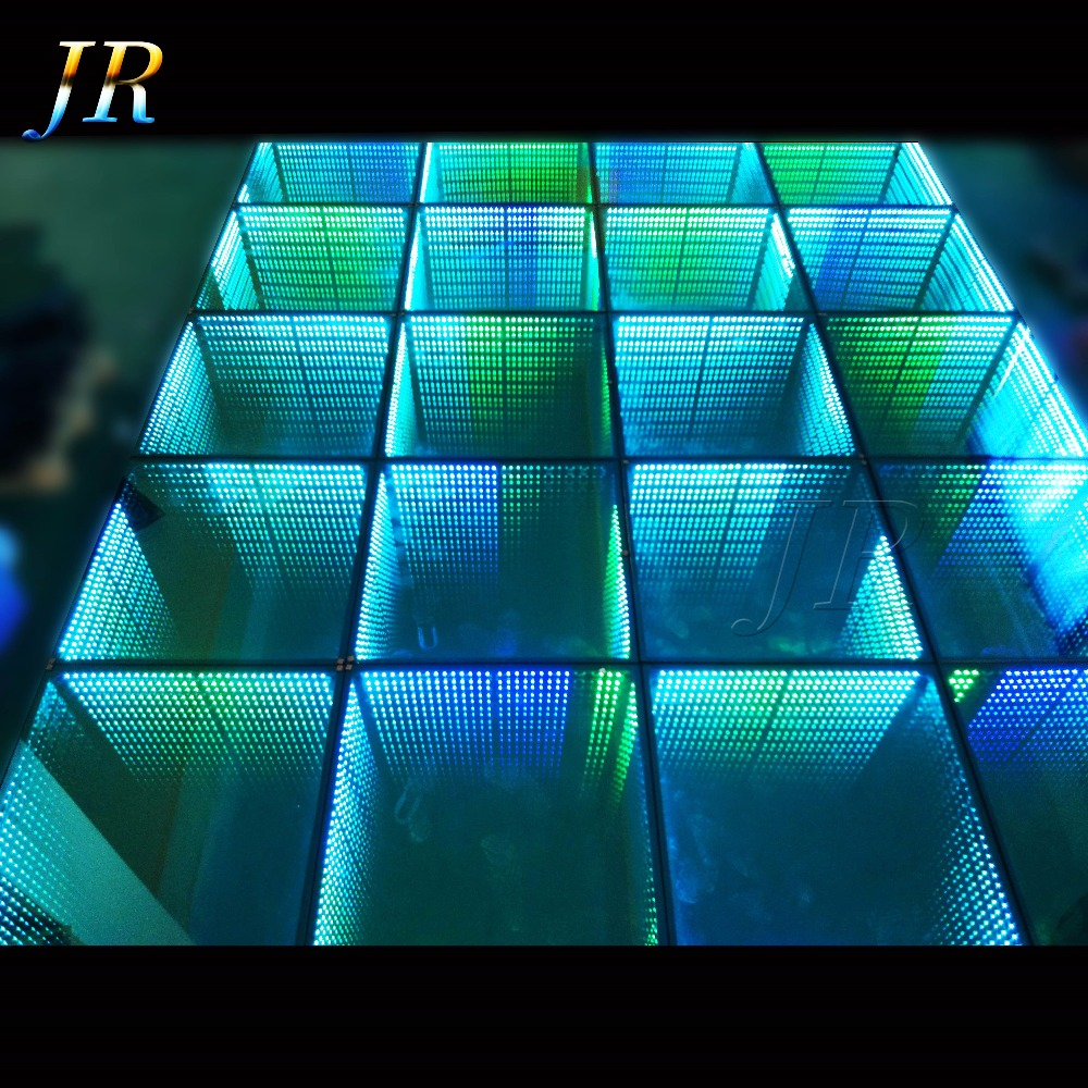 How To A Build Make Led Optical Illusions 3D Certificate Disco Designer Portable Lighted Dance Floor