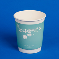 Normal Size Of Double Wall Cheap Disposable Coffee Cups paper cup ice cream