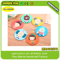 best selling promotional gift plastic soft PVC cup mat coaster