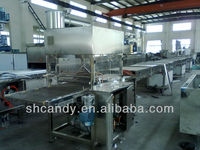 Sell QKT600/900/1200 chocolate coating line from Candy Machine Co.,LTD China