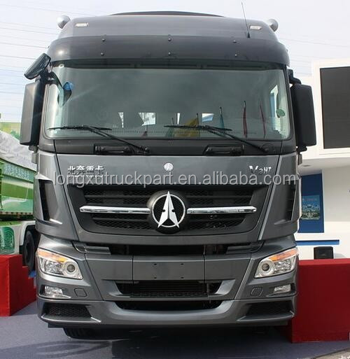 Beiben heavy tractor trucks, 375hp 6x4 tractor truck for sale