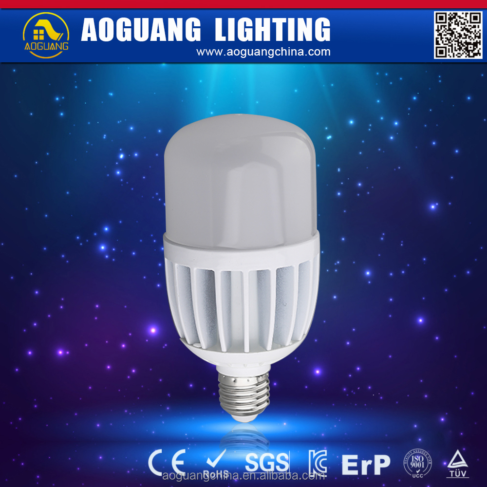 AG-T80AL30W 30W E27 80*160mm Aluminum body and PC cover SMD3528 LED IC driver High power led Bulb