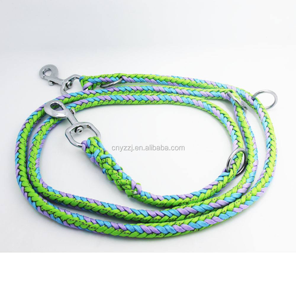 Custom Pet Supplies Sublimation Colorful Pet Lanyard Dog Leash