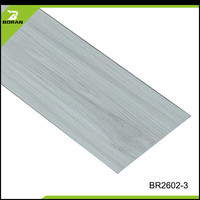 Plastic Flooring Type Wood Look Decorative Plank Floor