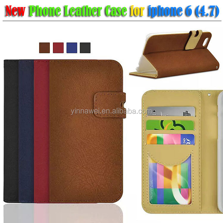 Hot Sale Luxury Case Cover For IPhone 6 Flip Leather Case