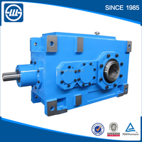 Hollow input shaftBseries B1HH,B2HH , B3HH,B4HH bevel speed gear reducer industrial helical gearbox for concrete mixer