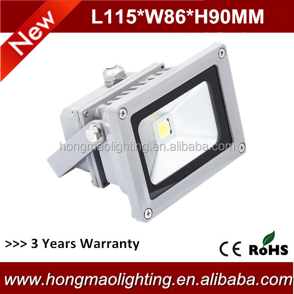 Anti-Rust outdoor ip65 10w most powerful led flood light
