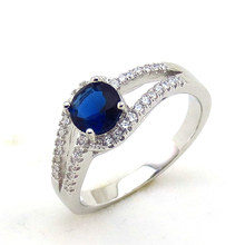 Latest 925 sterling silver wedding ring with AAA zircon antique fashion jewellery