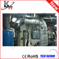 DragonPower fiberglass pipe insulation cladding