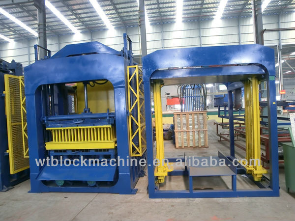 QT10-15 Stationary Hydraulic Block Making Machine