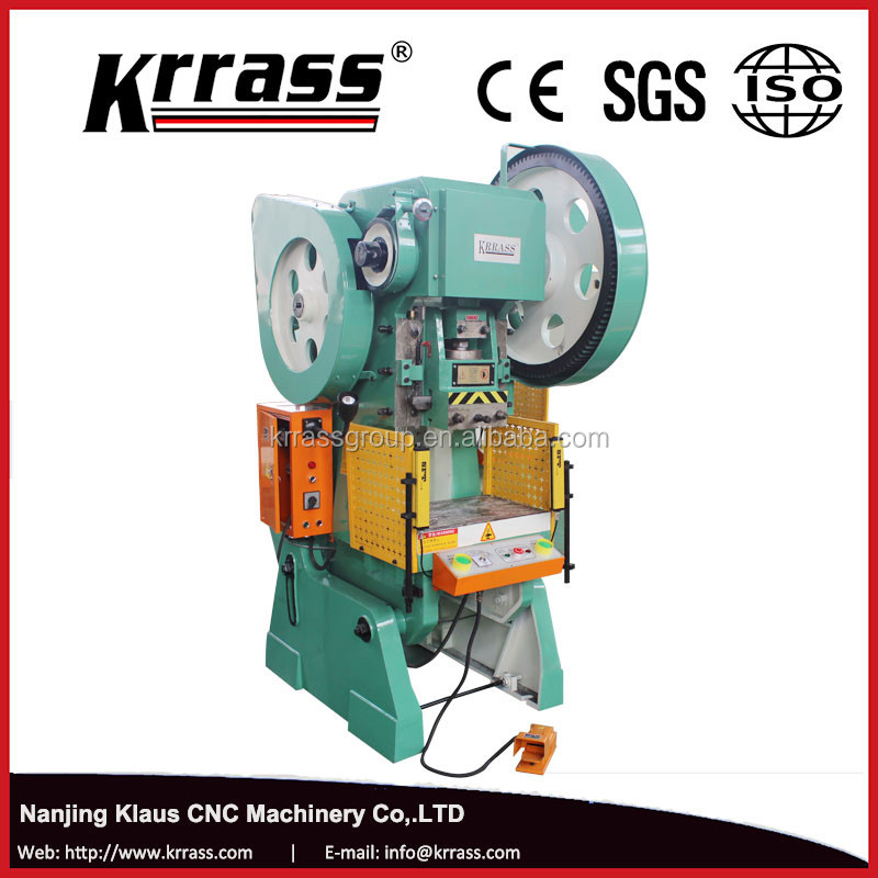 Top quality competitive price mechanical press machine iron sheet dieing out press eyelet curtain punch machine