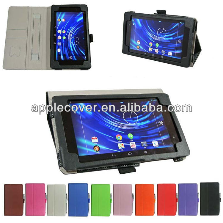Crazy Horse Wallet Leather Case for Google Nexus 7 2nd mix color