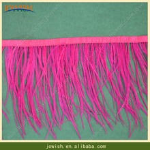 High quality Cheap ostrich feather for sale for wedding decoration Party Colored Ostrich feather Fringe Trim