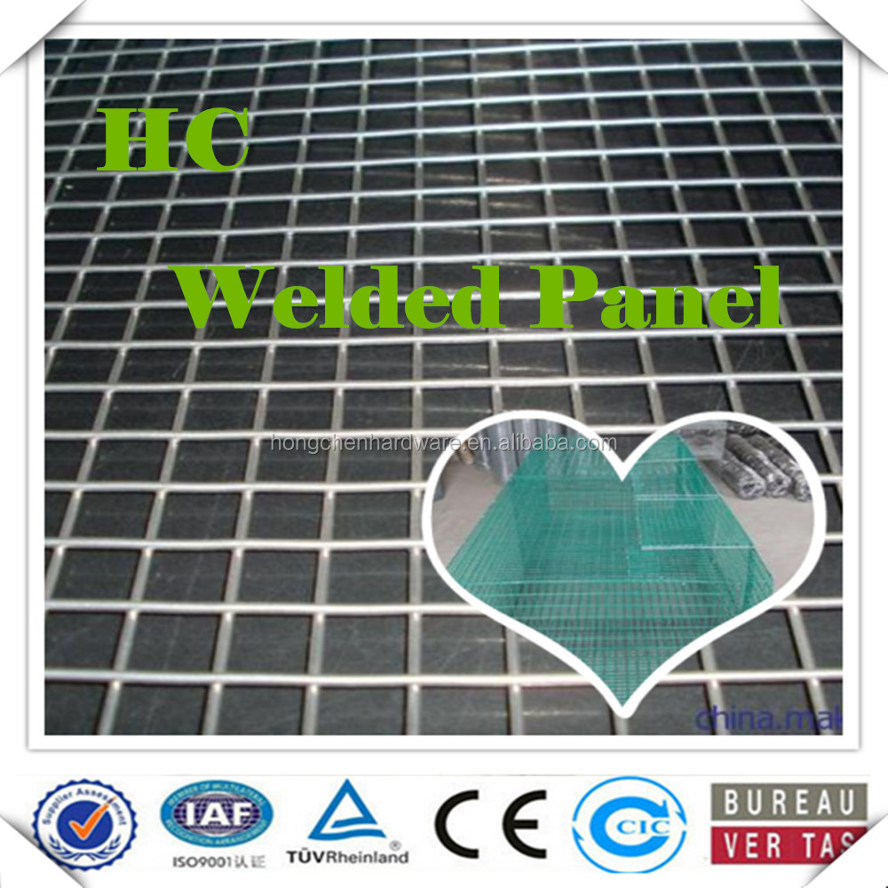 hot-dipped galvanized welded wire mesh for cages